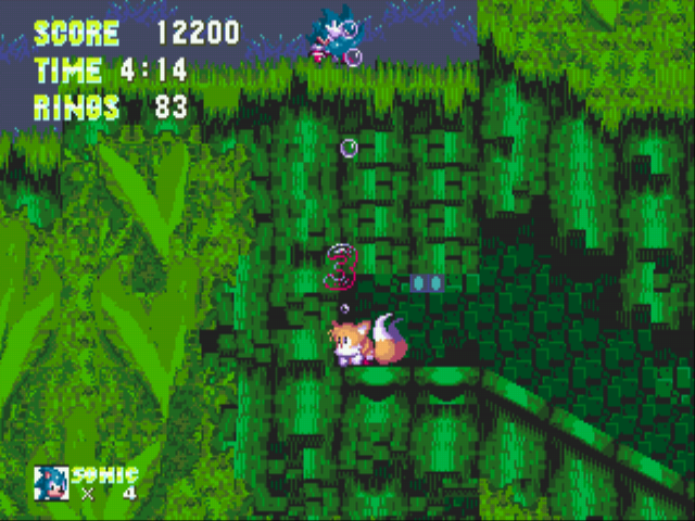 Sonic the Hedgehog 3 - Misc glitch - glitch - User Screenshot